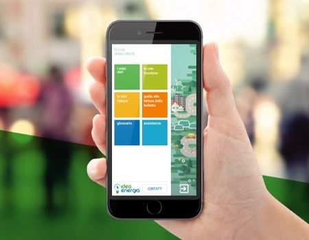 Gestisci la tua fornitura con l'app di Idea Energia